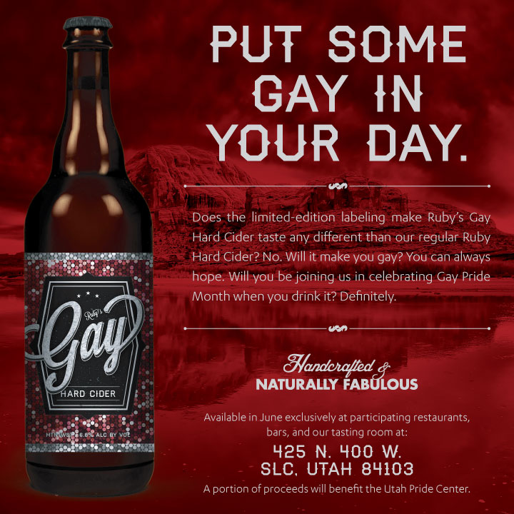 Ruby's Gay Hard Cider