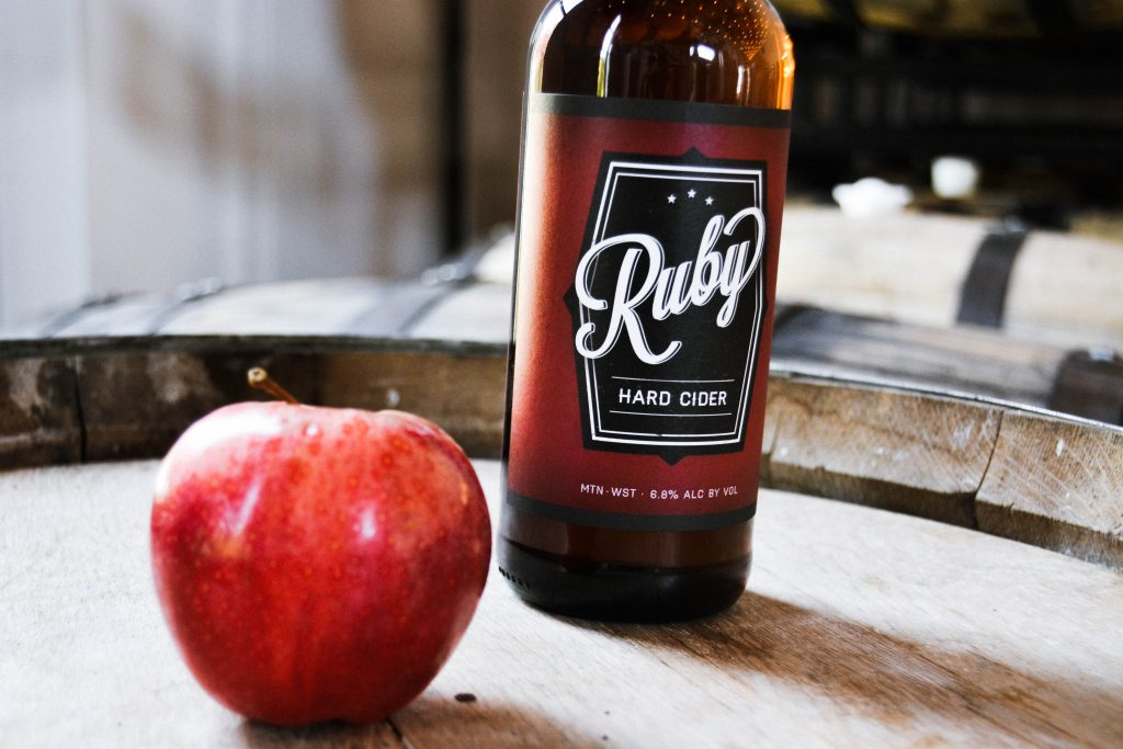 Ruby Hard Cider from Mountain West Cider